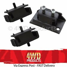 Engine & Gearbox Mount SET - Ford Courier PD / Bravo B2500 2.5D WL (2/99-02)