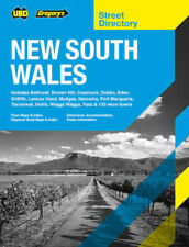 2021 New South Wales 20th Edition UBD Gregory's Street Directory, 565 Pages NEW