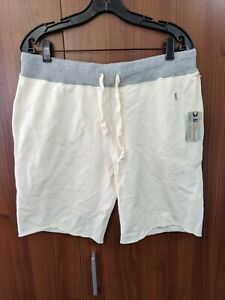 mens Todd snyder X champion NEW NWT shorts L Large Cream Made in Canada Cotton