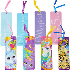 12 Unicorn Friends Bookmarks|Unicorn Party|Party Favours|Party Bag Fillers