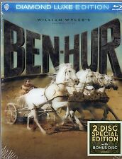 Ben-Hur (Blu-ray Disc, 2014, 2-Disc Set, Diamond Luxe Edition) Charlton Heston