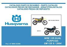 buy sm motorcycle repair manuals literature ebay rh ebay co uk Husqvarna Chainsaw 455 Rancher Manual husqvarna sm 125 service manual