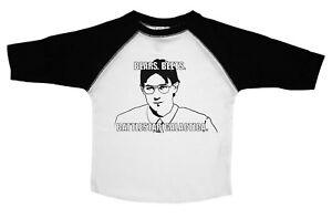 Funny Toddler T Shirt, Bears. Beets. Battlestar Galactica, - Get Baffle