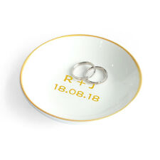 Personalized Ring Dish Jewelry Dish Wedding Gift Engagement Gift  Ring Holder