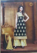 Diseñador indio paquistaní de Bollywood Anarkali asiático Traje Vestido Shalwar Kameez