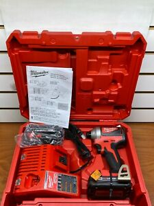 "Milwaukee 2850-22CT M18 Compact Brushless 1/4"" Hex Impact Driver"