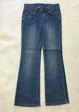 Girls size 8 Regular boot-cut jeans from Faded Glory stretch 5 pocket denim