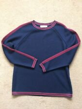 NEXT Women's Navy Blue Sporty Crew  Long Sleeves Jumper, Medium Size, £30
