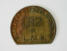 More details for lms railway pay check token no 182 carlisle citadel station (ref801)