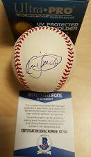 Kirby Puckett Signed RAWLINGS AL Baseball AUTO Autograph BECKETT COA BAS Twins
