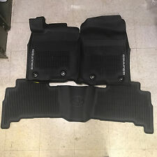2013-2018 4RUNNER FLOOR  LINER MAT RUBBER ALL WEATHER TOYOTA OEM PT908-89160-02
