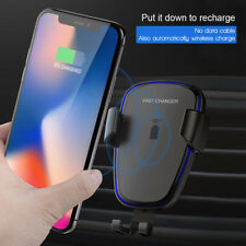 Auto Wireless Charger KFZ Ladegerät Qi Induktive Ladestation  iPhone&Samsung DHL