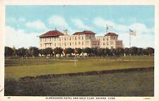 Cuba postcard Habana Havana Almendares Hotel and Golf Club