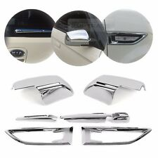 Exrerior Chrome Side Mirror Fender Rear Wiper Trim Molding for KIA 2008-13 Soul
