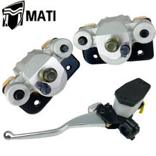 Front Brake Calipers and Brake Master Cylinder for Arctic Cat 500 4X4 2002 2003