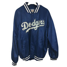 Vintage Los Angeles Dodgers Nylon Jacket by Starter Diamond Collection Size XL