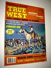 True West Magazine Feb 1982 James Younger Robbery In Columbia - Coyote Bill