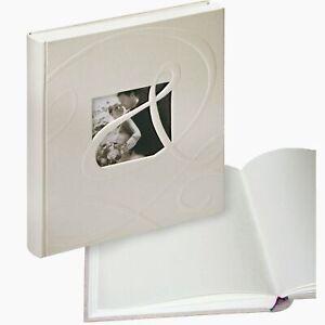 Ti Amo medium wedding albums, white pages