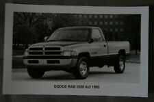 DODGE RAM 2500 4X2 1995 Official Press photo - Canada - ST501001117