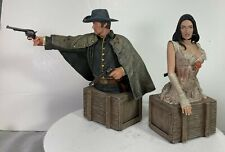 JONAH HEX MOVIE Jonah Hex and Lilah mini bust set  DC Direct New