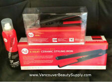 "KQC X-Heat 1"" Flat Iron + KQC Mini Deep Waver + Thermal Spray - FREE FAST SHIP"