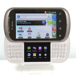 RARE LG DoublePlay (T-Mobile) 3G GSM Slider Phone