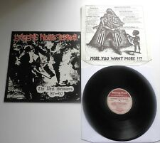 Extreme Noise Terror - The Peel Sessions UK 1990 LP with Inner Sleeve