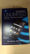 NEW LG Phoenix 3 16GB Unlocked GSM Android Smartphone (Black) Free Shipping