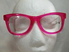 NEW 2.50 Betsey Johnson Reading Glasses Thick Fuchsia W/Floral Temples Readers
