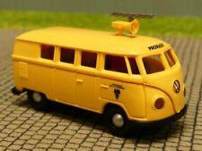 1/87 Brekina # 0454 VW T1 a Post Österreich mit Antenne + Lautsprecher Bus