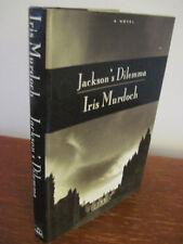 1st Edition JACKSON'S DILEMMA Iris Murdoch NOVEL First Printing FICTION