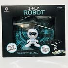 BRAHA i-Fly Robot Flying Helicopter White/Blue Age 8+ Fly Up To 10 Minutes-New