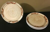 """(4) Crate & Barrel TOCUMBO 11 1/2"""" Dinner Plates Plates"""
