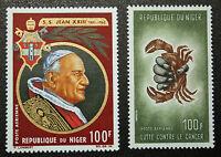 Stamp / Stamp Niger - Yvert and Tellier Aerial N°49 & 50 N (Cyn16)