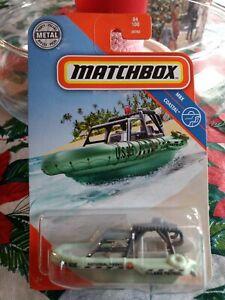 Matchbox 2020 MBX Coastal Series SEA SPY Boat GKK69 84/100