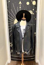 Stylish biker leather Jacket