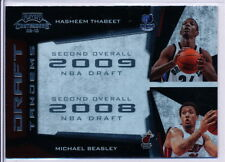 2009-10 PLAYOFF CONTENDERS DRAFT TANDEMS #1 HASHEEM THABEET RC & MICHAEL BEASLEY