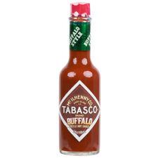 TABASCO 5 oz Bottle Buffalo Style Hot Sauce (select quantity)