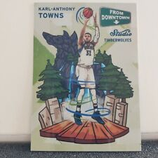 """2016 PANINI STUDIO BASKETBALL KARL-ANTHONY TOWNS SSP """"FROM DOWNTOWN"""""""