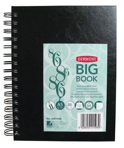 DERWENT A5 BIG BOOK WIRE BOUND - 110gsm