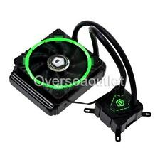 ID-COOLING IceKimo 120G Green LED CPU Liquid Cooler 120mm Radiator PMW Fan