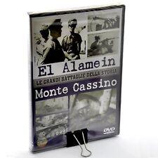 Le grandi battaglie della storia. El Alamein. Monte Cassino (2007) DVD