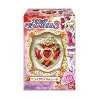BANDAI HUGtto ! Precure Mirai Crystal 3 10pcs (All 5) Set Candy Toy w/ Tracking