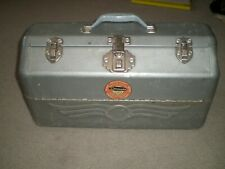 Simonsen Streamline Quality Vintage Tackle Box Full of Lures, Flys, Reel & More!