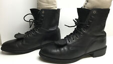 VTG MENS ARIAT WORK BLACK BOOTS SIZE 7.5 D
