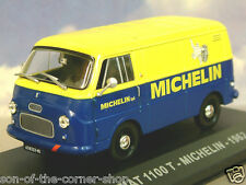 DIECAST 1/43 ITALIAN VAN COLLECTION FIAT 1100 T VAN MICHELIN TYRES BIBENDUM 1962