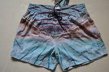 PAUL SMITH PS Swimming Pool Print Swim Shorts M New