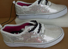 NWT Girls Leopard Print Air Speed Casual Shoes Size 4