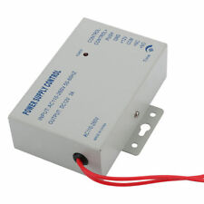 AC 110-240V IN to DC 12V 3A Power Supply For Door Access Control Worldwide Volt