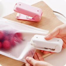 Food Sealer Mini Household Sealing Machine Heat Bag Sealer Capper Food Resealer